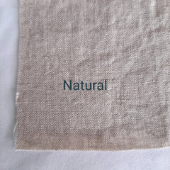 Colour swatch stonewashed linen natural