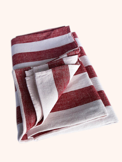 Linen Beach Towel Philippe Cherry