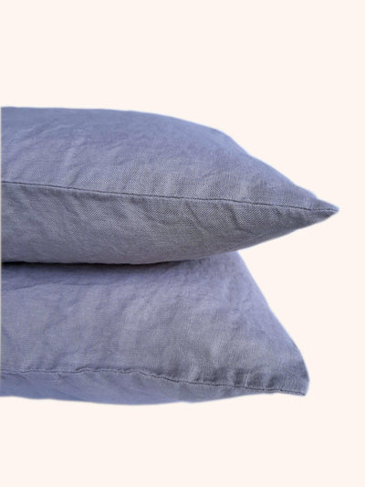 Linen Pillow Case Set Taupe