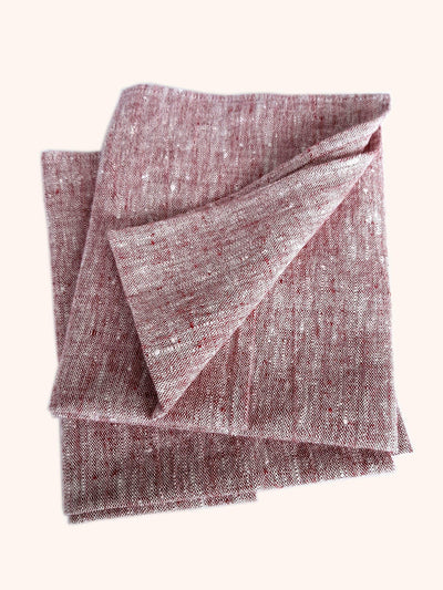 Linen Tea Towel Set Francesca Cherry