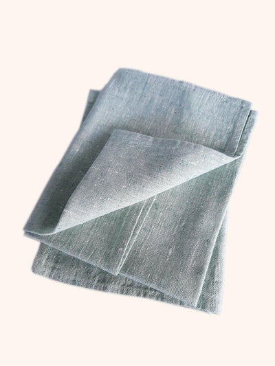 Linen Tea Towel Francesca Mint