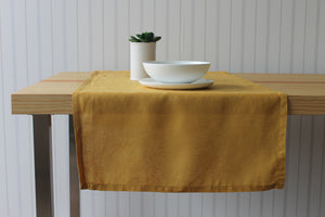 Golden Wattle Table Runner