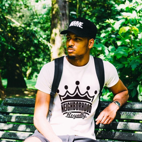 Men Crown Logo Tee