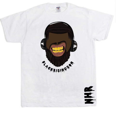 Black Rising Son Tee