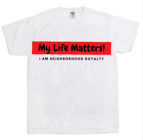 "NHR ""My Life Matters"" T-Shirt Ladies"