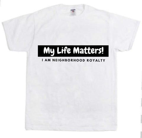 "Ladies NHR ""My Life Matters"" T-Shirt"