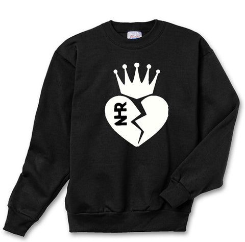 Royal Heart Sweatshirt