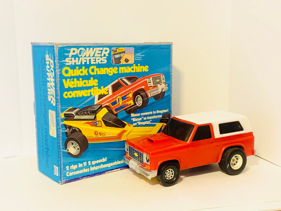 1977 Mattel Power Shifter Blazer in Original Box