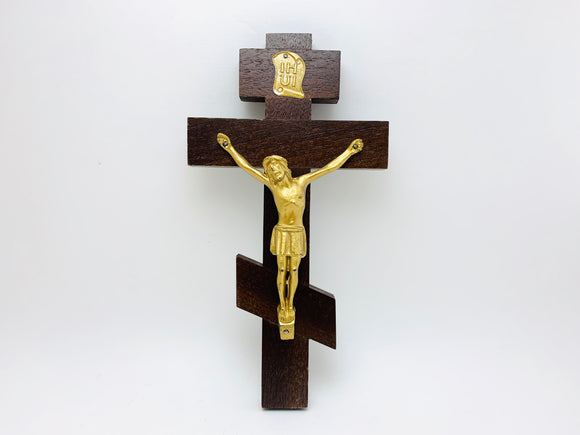 1950's Solid wood Cross