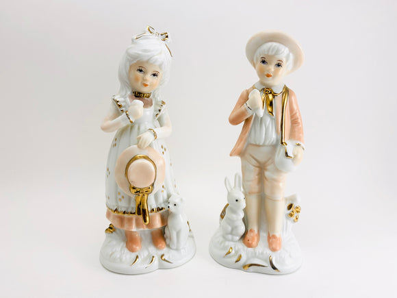 1970's Peach Elegance by Giftcraft Statuettes
