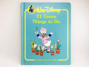 Walt Disney's '21 Green Things to Do' Childrens Book
