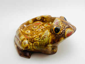 Vintage Ceramic Frog Soap or Trinket Dish