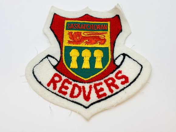 Vintage Saskatchewan Redvers Sew On Patch