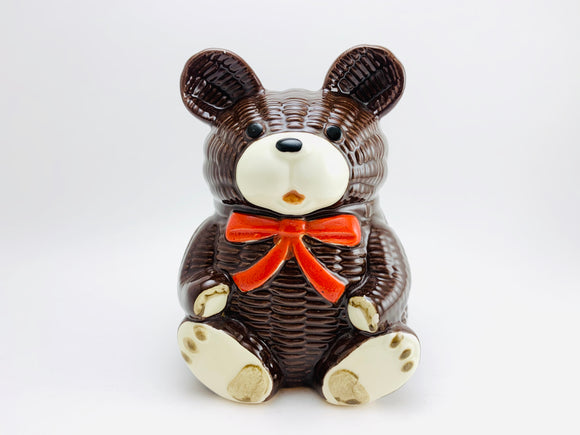 Vintage Otagiri OMC Japan Ceramic Bear Money Bank