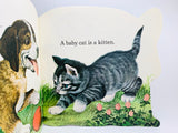 "1977 ""The Baby Animal Book"" a Golden Shape Book"