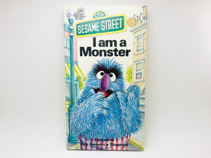 1976 Sesame Street, I am a Monster, Golden Sturdy Book