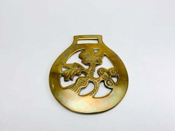 Vintage Horse Brass, Rose, Shamrock and Thistle