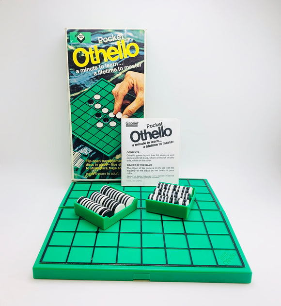1977 Pocket Othello Strategy Game