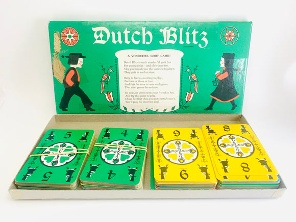 1973 Dutch Blitz Card Game