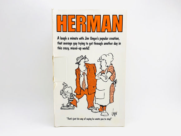 1980's Herman by Jim Unger Book Set - 5 Books