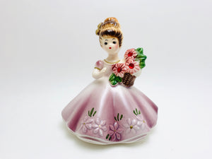 1960's July Josef Original Zircon Birthstone figurine
