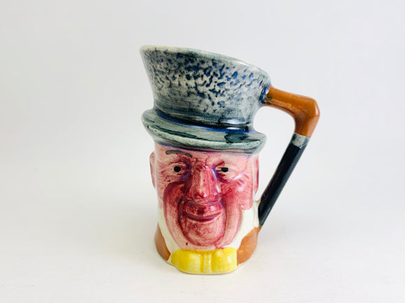 Vintage Small Micawber Toby Jug Made in Japan