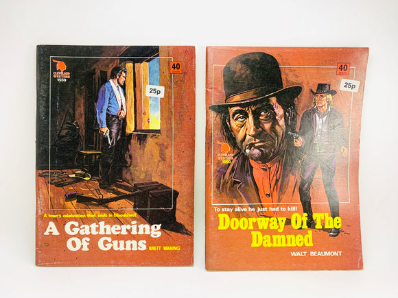 "2 1960's Cleveland Westerns, ""A Gathering of Guns"" and ""Doorway of the Damned"""