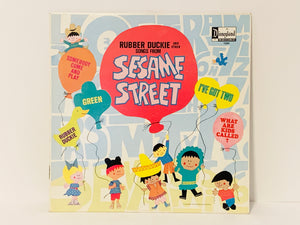1970 Rubber Dickie and Other Songs from Sesame Street, Disneyland Record