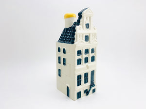 Vintage KLM BOLS Delft Miniature House No 69 Empty