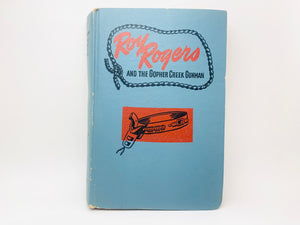 1945 Roy Rogers and the Gopher Creek Gunman Ex Library Copy