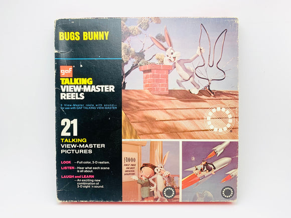 1973 Bugs Bunny GAF Talking View Master Reels