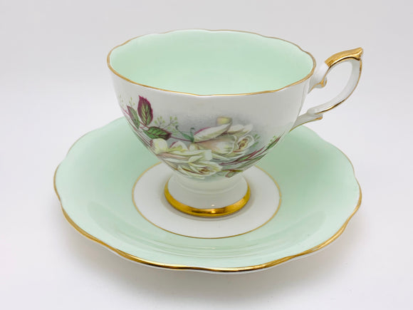 Vintage Royal Standard Fine Bone China Teacup and Saucer
