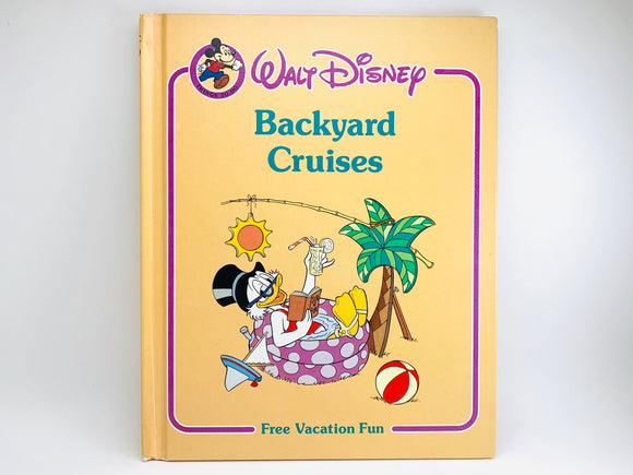 Walt Disney's 'Backyard Cruises' Childrens Book