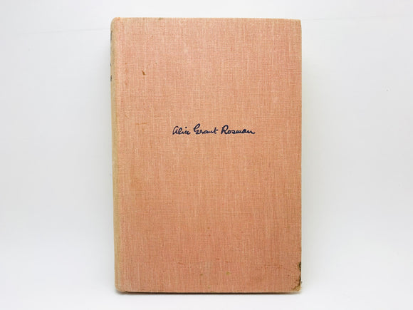 1934 Somebody Must by Alice Grant Rosman