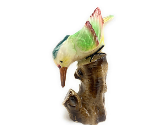 SOLD! 1960's Curious Bird Porcelain Figurine