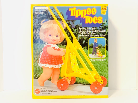 1980 Tippee Toes Doll by Mattel, New in Box