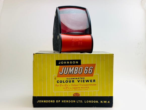 Vintage Johnson Jumbo 66 Illuminated Colour Slide Viewer IOB