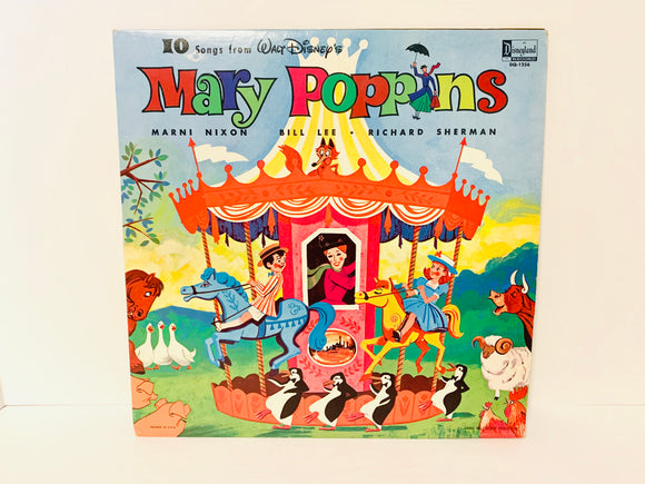 1964 10 Songs from Walt Disney's Mary Poppins LP Record
