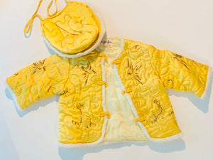 SOLD! Vintage Chinese Traditional Baby Jacket and Hat