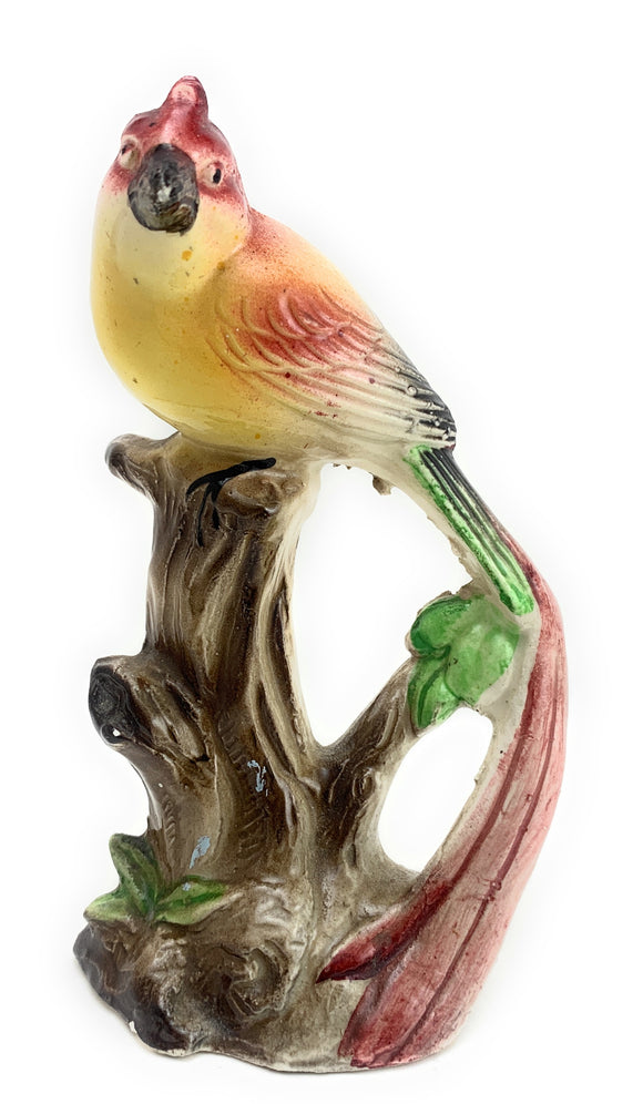 SOLD! 1960's Pastel Bird Porcelain Figurine