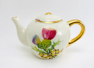 1960's Argyll Pottery Dunoon Miniature Teapot