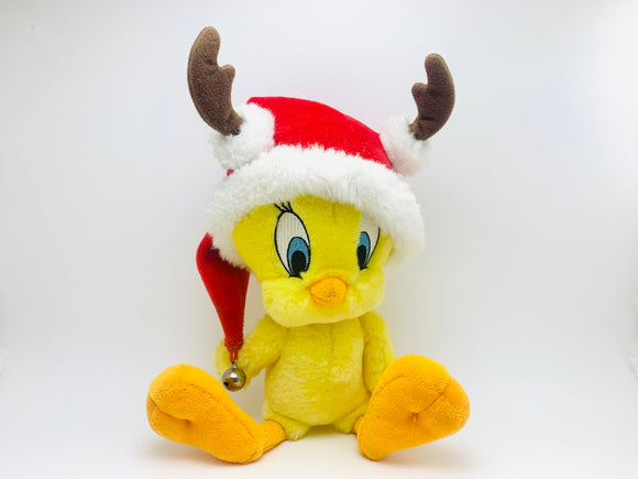 Christmas Tweety Bird Plush