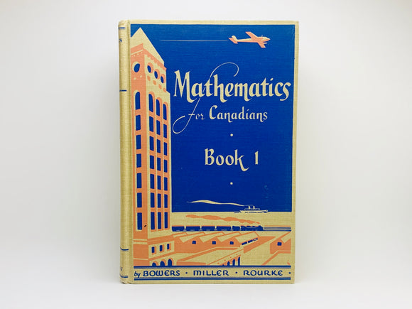 1947 Mathematics For Canadians Book 1