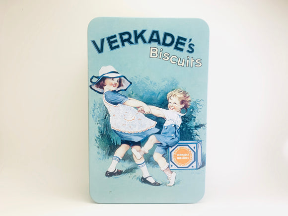 1950's Verkade's Biscuits Tin - Holland