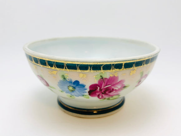 Antique Nippon Hand Painted Mayonnaise Bowl