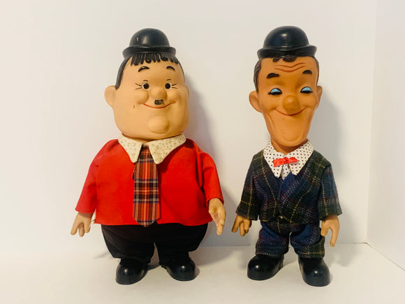 1975 Laurel and Hardy Vinyl Dolls