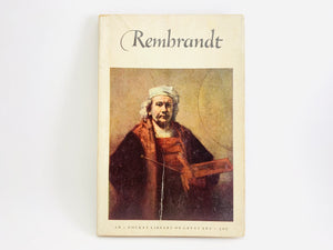 1953 Rembrandt, Abrams Pocket Book - First Printing