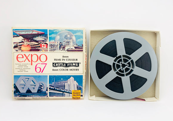 Expo 67 8 mm Color Movie by Castle Films