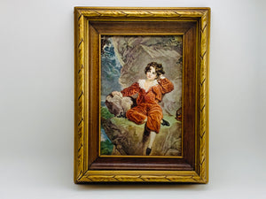 1940-50's The Red Boy Framed Print, Master Lambton by Thomas Lawrence