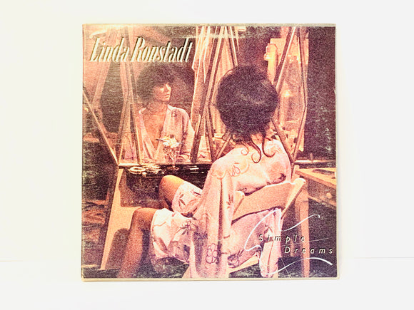 1977 Linda Ronstadt - Simple Dreams LP Record